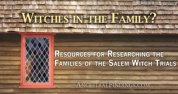 Salem witch trial research papers