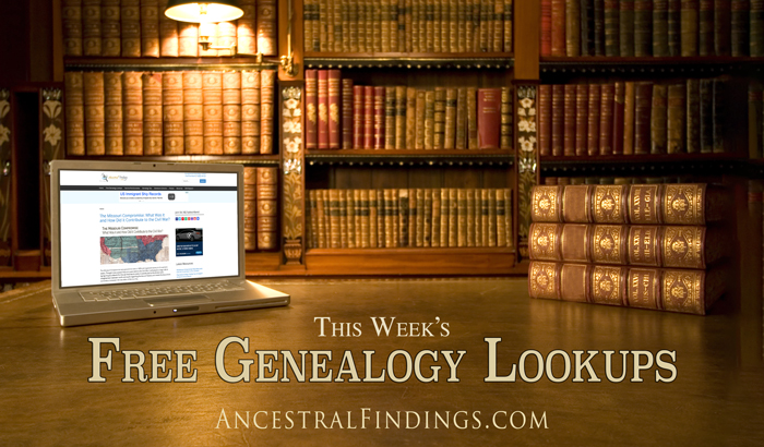 This-Weeks-Free-Genealogy-Lookups-2015-06-28