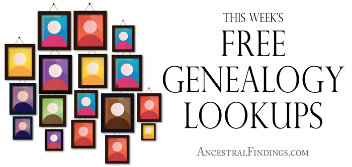 This-Weeks-Free-Genealogy-Lookups-2015-07-19
